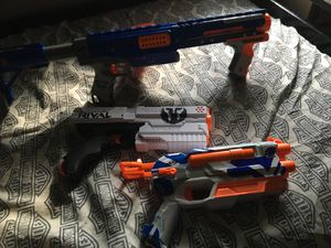 Nerf guns NEED GONE for Sale in Indianapolis, IN