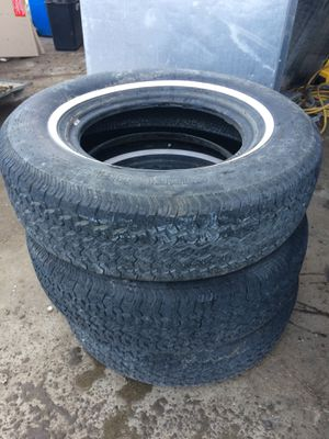 215/75/14 tires (Qty 3) for Sale in Caldwell, ID