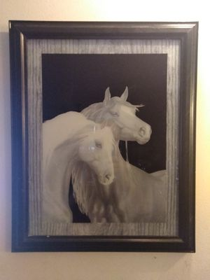 Nice framed horse photo picture for Sale in Warrenton, MO
