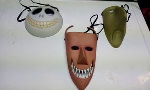 Nightmare before Christmas mask collection for Sale in Everett, WA