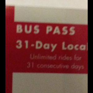31 Day Bus pass for Sale in New Haven, CT