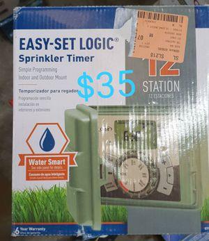 Orbit 12 station outdoor sprinkler timer for Sale in Bakersfield, CA