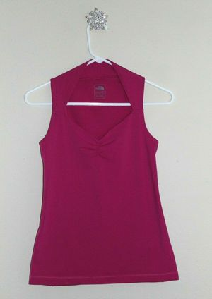 The North Face Athletic Top Hot Pink Sweetheart Neckline Small for Sale in University Place, WA
