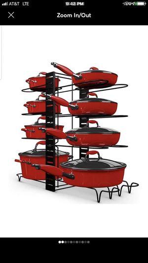 Pot rack organizer for Sale in Burnsville, MN