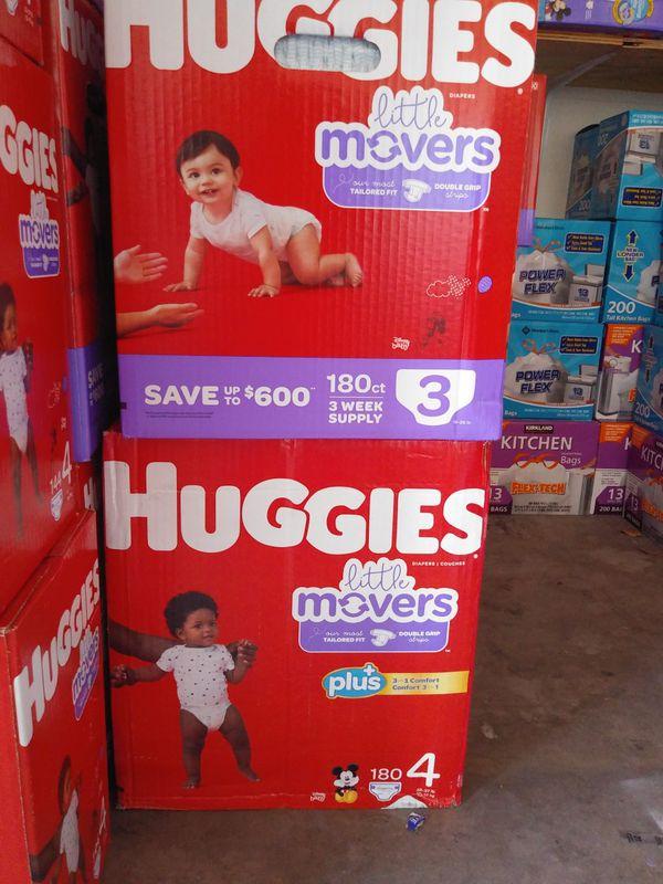 HUGGIES LITTLE MOVERS