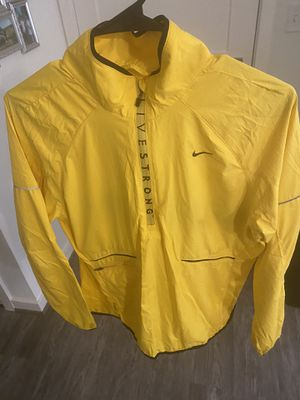 Nike Livestrong WMNS Running Jacket (L) for Sale in Brentwood, MD