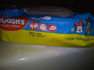 Huggies baby wipes 72 count ($1.50 Each or 4 for $5 or 10 for $10) for Sale in McKees Rocks, PA
