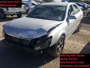 2006 Hyundai Sonata @ U-Pull Auto Parts 047791 for Sale in Las Vegas, NV