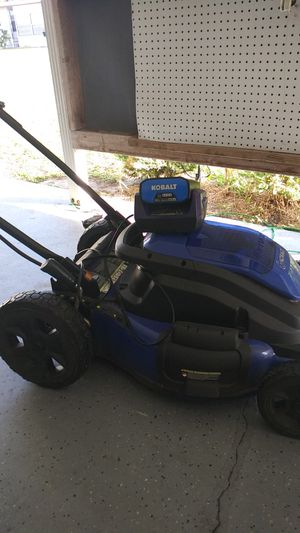 40 volt electic mower for Sale in Dundee, FL