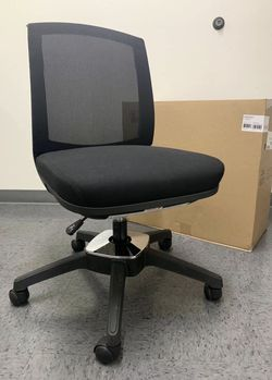 NEW HON model HVL951 Black Task Office Computer Desk 250lbs Capacity Pivot Motion Conference Chair Adjustable Height Black Average MSRP $280 for Sale in San Dimas,  CA