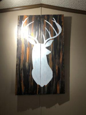 Custom painted deer head for Sale in Prattville, AL