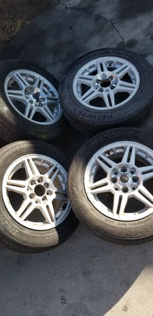 """set of 14"""" inch universal rims for Sale in South El Monte, CA"""