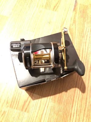 Abu Garcia fishing reel with line counter for Sale in Oakland, CA