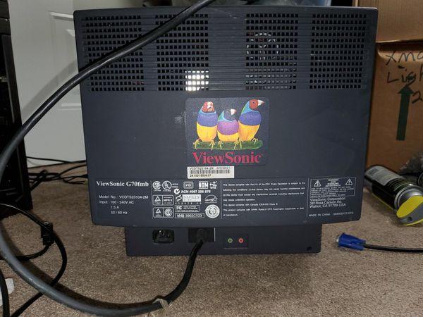 """Viewsonic 15"""" CRT monitor"""