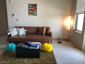 Futon sofa bed for Sale in Sun Prairie, WI