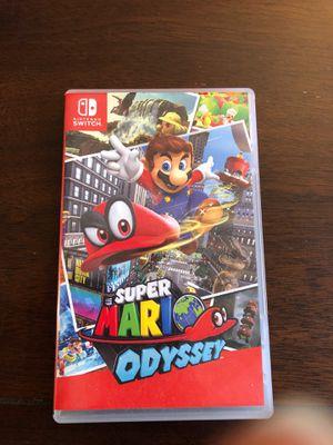 Super Mario Odyssey Nintendo switch for Sale in Phoenix, AZ