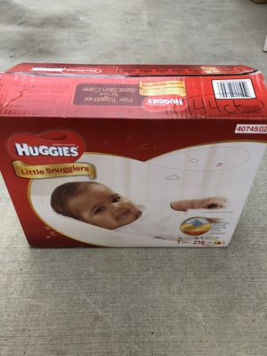 Huggies Little Snugglers size 1 (144ct NOT 216) for Sale in Oakland, CA