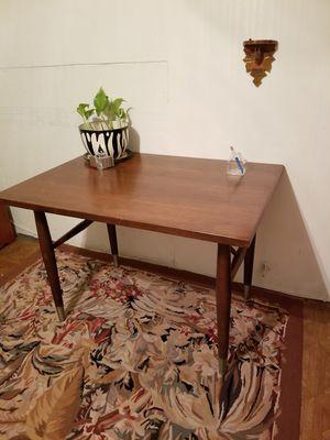 Mid century Dark wood table / desk for Sale in San Antonio, TX