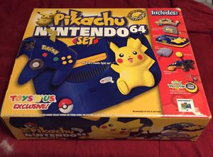Pikachu N64 in box for Sale in Belfast, ME