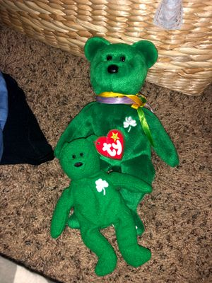 "Rare retired ""erin"" beanie babie (set) for Sale in Canyon Lake, CA"