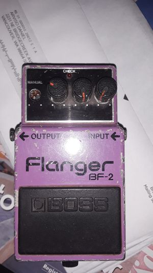 Boss flanger for Sale in Vancouver, WA