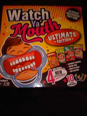 """watcha mouth"" game for Sale in Springfield, OR"