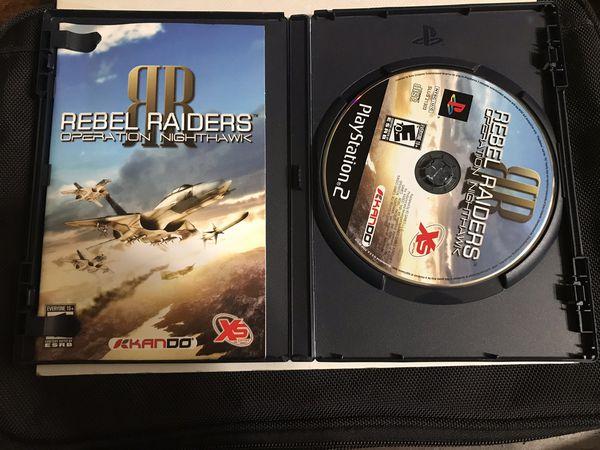 Rebel Raiders Operation Nighthawk Playstation 2 game