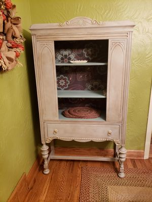 Beautiful Refinished Antique China Cabinet for Sale in Penn Hills, PA