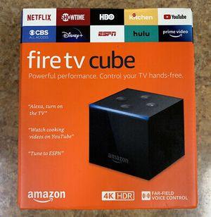 Fire TV Cube 2nd Gen for Sale in Glendale, AZ