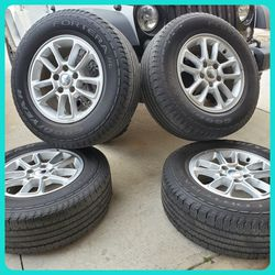 "(4) OE / OEM Factory Stock Mopar Wheels / Rims | 17 "" 5x5 5x127 