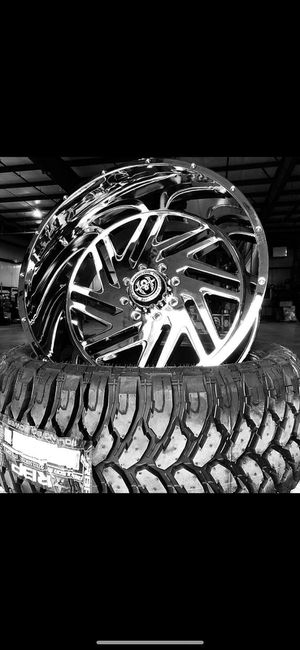 24x14 RIMS AND TIRES for Sale in Phoenix, AZ