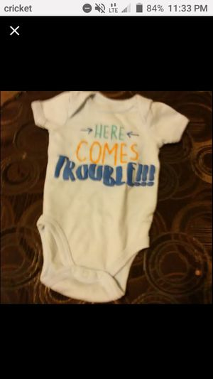 Here Comes Trouble onesie for Sale in Port Richey, FL