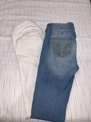 Hollister jeans size 1S & 0R for Sale in Fresno, CA