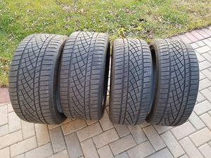Continental Extreme contact all season tires R19 for Sale in Schiller Park, IL
