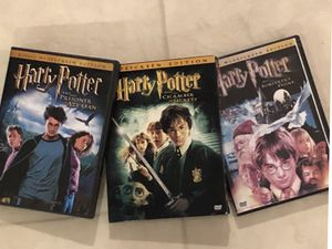 3 DVDs Harry Potter for Sale in Smyrna, TN