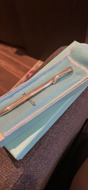 Tiffany sterling silver pen and luggage tag for Sale in Los Angeles, CA