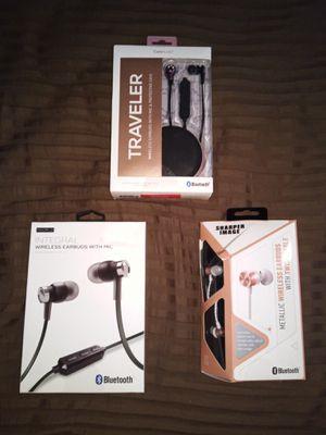 3- Wireless Bluetooth Earbuds $10 each for Sale in Greenbelt, MD