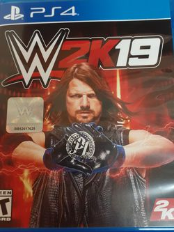 WWE 2K19 PS4 Wrestling Game for Sale in Modesto,  CA