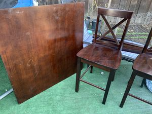 Table with 4 chairs for Sale in Santa Clara, CA