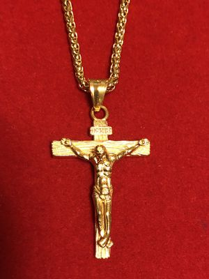 Brand New gold plated chain and pendant for Sale in Rockville, MD