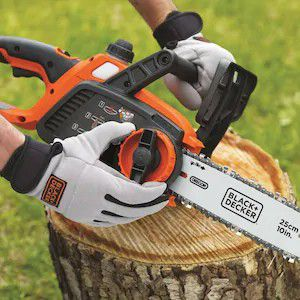 "Black and Decker electric chainsaw with 10"" bar. Uses rechargable battery, brand new unopened in the box for Sale in Portland, OR"