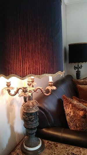 2 Vintage candelabra lamps for Sale in Pflugerville, TX