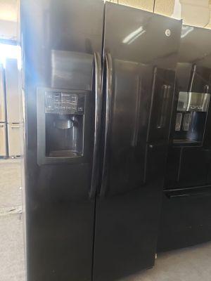 GE Refrigerator Fridge Black 36in Wide #803 for Sale in Ontario, CA