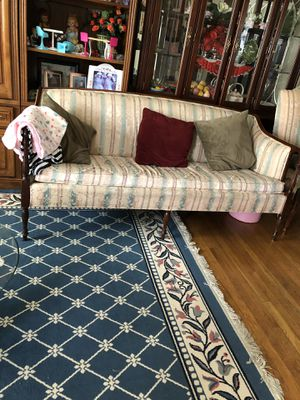 2 sofas and 1 chair they all match. for Sale in Lorton, VA