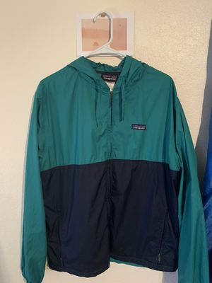 Patagonia Jacket Mens Large Windbreaker for Sale in Jenks, OK