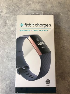 Fitbit Charge 3 Advanced Fitness Tracker for Sale in La Mesa, CA