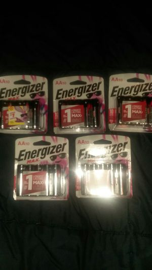 50 brand new AA Energizer Max batteries. for Sale in St. Helens, OR