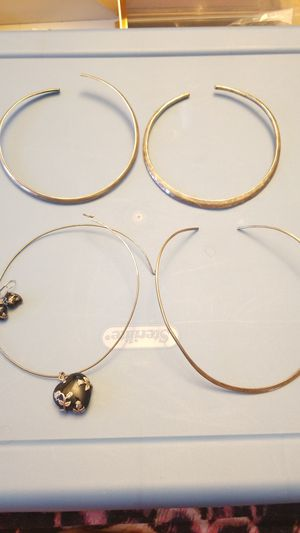 STERLING SILVER CHOKER LOT for Sale in Fairfax, VA