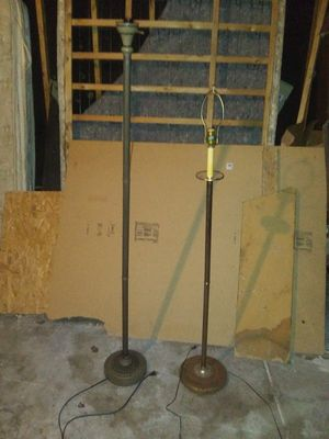 2 Tall Household Lamps for Sale in Wichita, KS