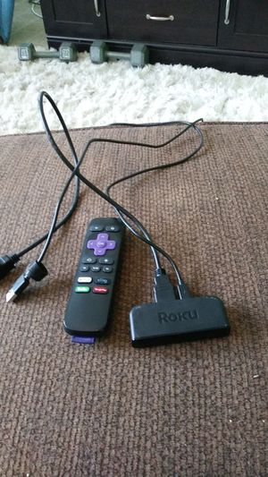 Barely used Roku with everything included for Sale in Saint Petersburg, FL